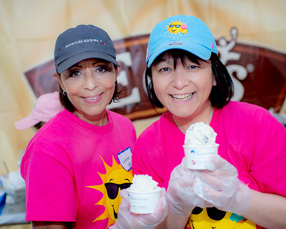 Volunteers scoop more than 50 ice cream flavors at Scooper Bowl