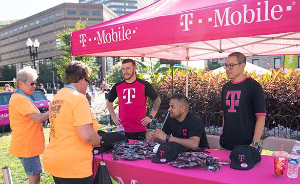Jimmy Fund Walk sponsor T-Mobile