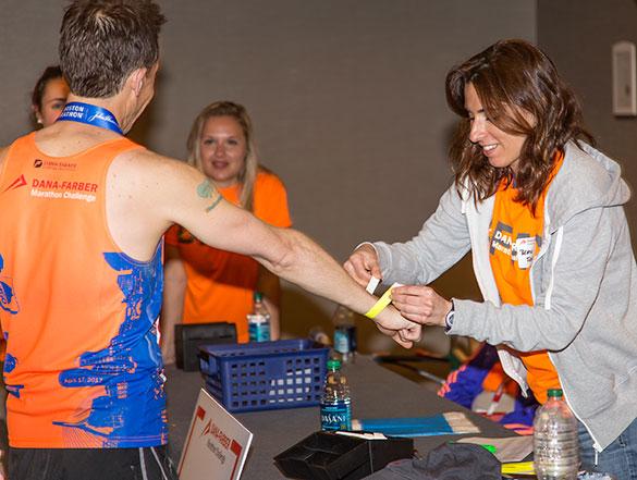 Dana-Farber volunteers