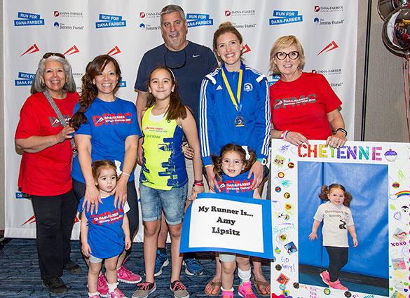 Participants of the Dana-Farber Marathon Challenge Partner Program
