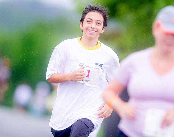 Jimmy Fund 5K & Fun Run participants will help to raise money to cure cancer