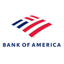 Bank of America logo on white background