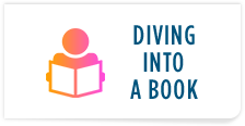 Diving into a book