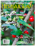 Click here for more information about HerbalGram 109