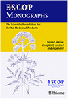 Click here for more information about ESCOP Monographs: The Scientific Foundation for Herbal Medicinal Products
