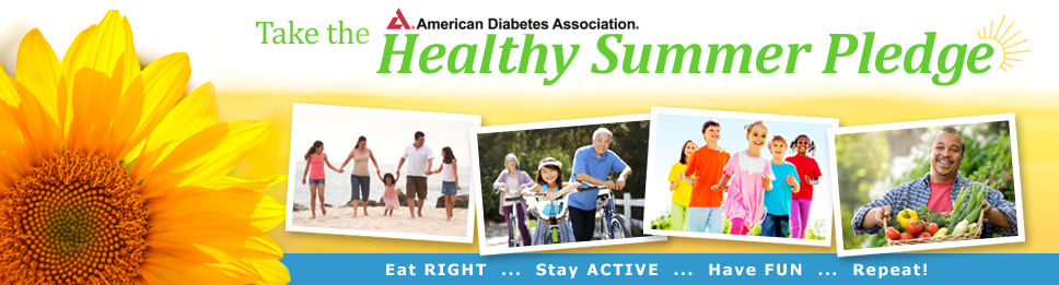 American Diabetes Association | Healthy Summer Pledge