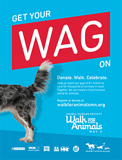 Walk for Animals Poster