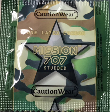 Cautions Wear Mission 707 Studded