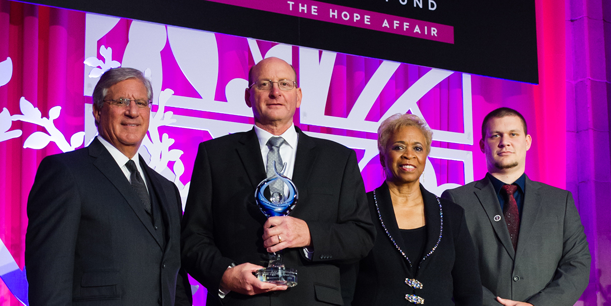Nominate your hero for the Hero of Hope Award