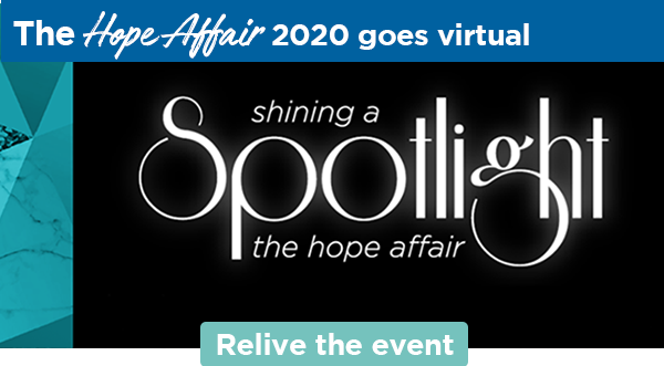 The Hope Affair 2020 goes virtual | the hope affair shining a spotlight | Relive the event