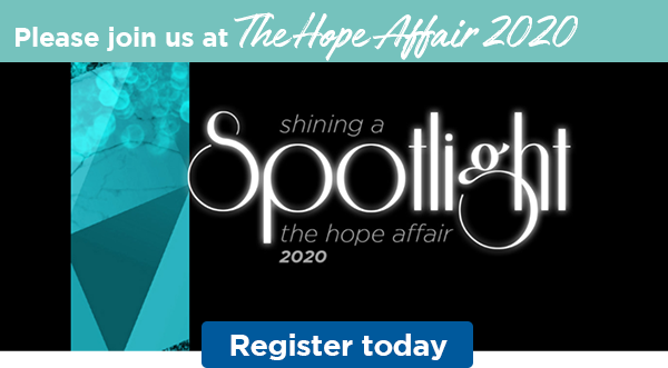 Please join us at The Hope Affair 2020 | Register today