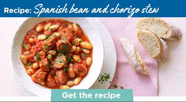 Recipe: Spanish bean and chorizo stew | Get the recipe