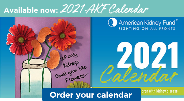 Available now: 2021 AKF Calendar | Order your calendar