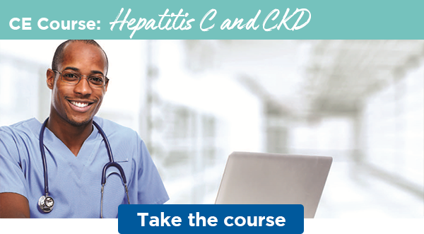 CE Course: Hepatitis C and CKD