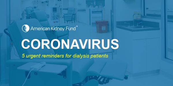 Coronavirus | 5 urgent reminders for dialysis patients