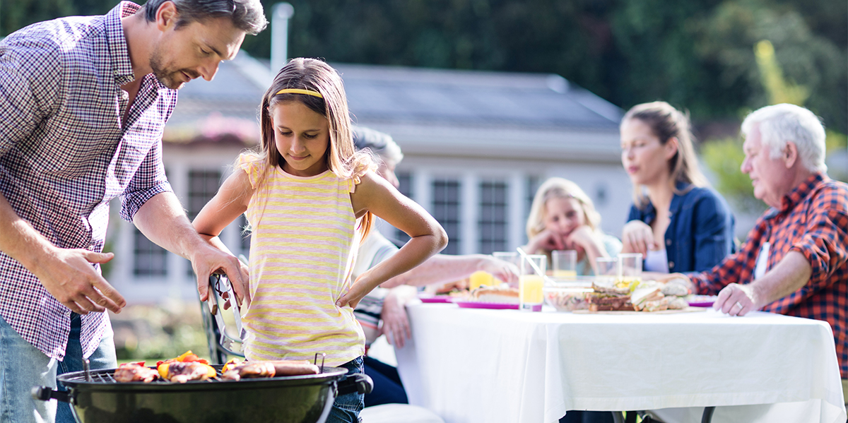 There's no reason to sweat your next family cookout with these tips