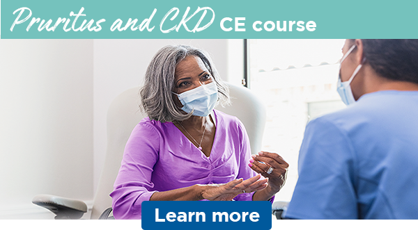 Pruritus and CKD CE course   Learn more