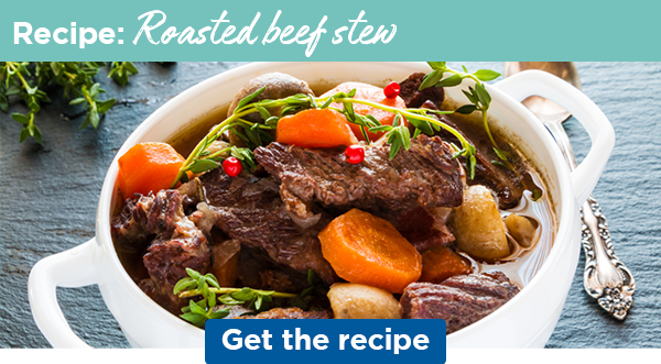 Recipe: Roasted beef stew   Get the recipe