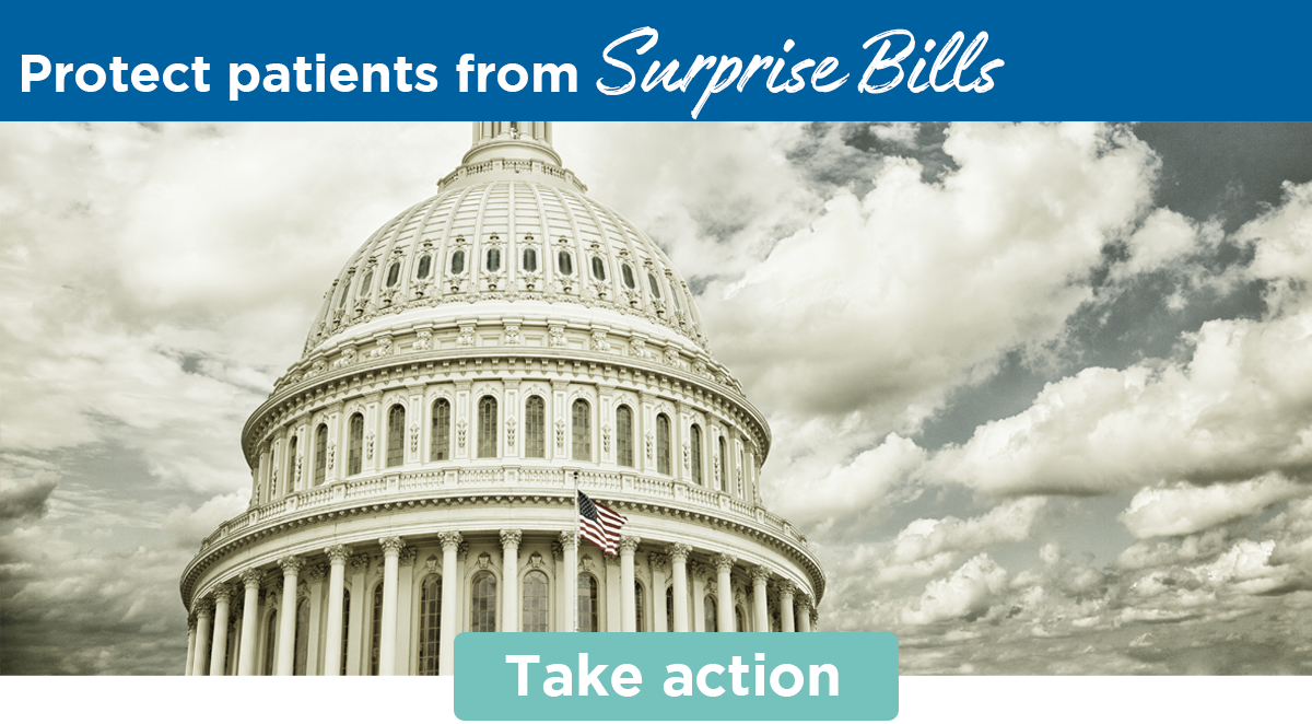 Protect patients from Surprise Bills | Take action