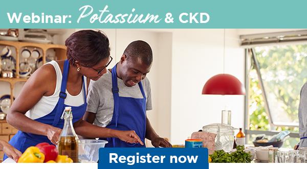 Webinar: Potassium & CKD   Register now