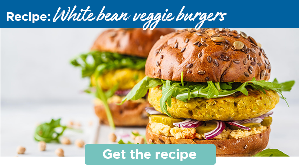 Recipe: White bean veggie burgers | Get the recipe