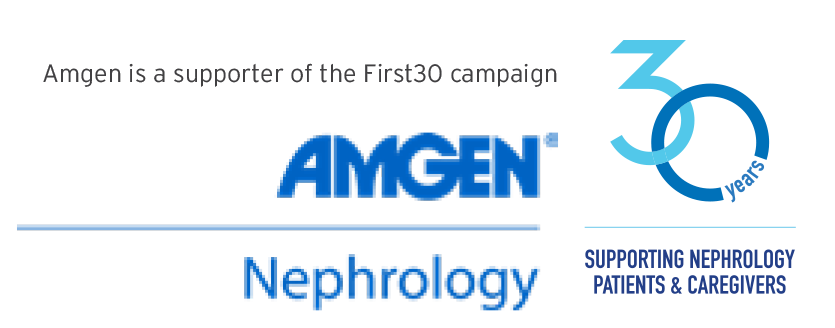 Amgen Nephrology   30 Years Supporting Nephrology Patients and Caregivers