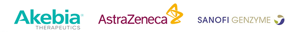 Akebia Therapeutics   AstraZeneca   Sanofi Genzyme