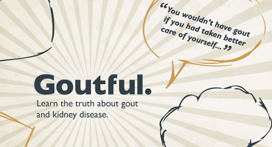 Learn the truth about gout and kidney disease