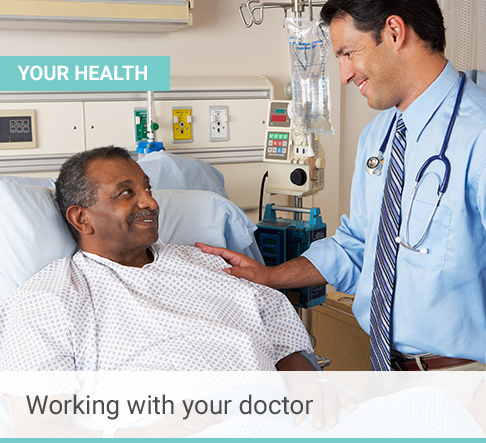 Work with your doctor