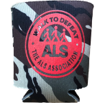 Walk to Defeat ALS Camo Koozie