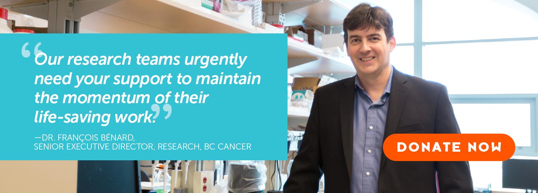 Dr Benard BC Cancer