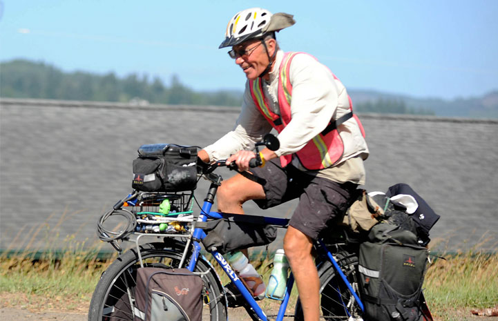 Floyd Lampart - Pedaling to save lives