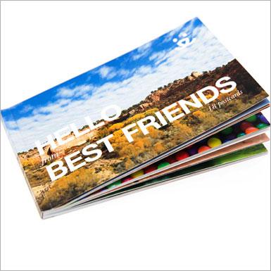 Best Friends Postcard Book