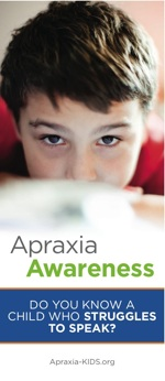 Apraxia Awareness Brochures