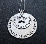 Click here for more information about Apraxia Awareness Silver Necklace