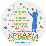 Click here for more information about Apraxia Window Cling (pack of 10)