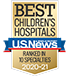 Ranked No. 3 in the U.S. News & World Report list of Best Children's Hospitals.