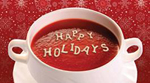 Soup Bowl Holiday Card
