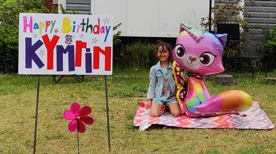 Kymrin's 8th Birthday