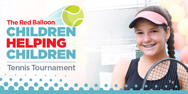 Red Balloon Children Helping Children Tennis Tournament