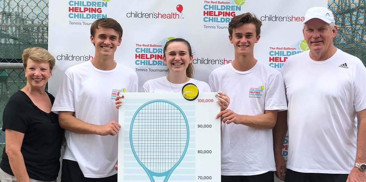 2018 Red Balloon Children Helping Children Tennis Tournament