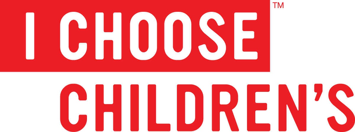 Children's Medical Center Foundation - I Choose Children's Logo