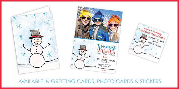 Women's Auxiliary Holiday Cards and Stickers