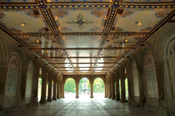 Minton Tile Ceiling at Bethesda Terrace Arcade