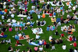 Great Lawn, Bon Jovi Concert, 2008