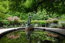 Conservatory Garden, Burnett Fountain, 2008