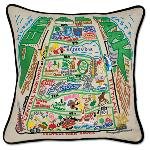 Click here for more information about  Hand-Embroidered Central Park Pillow by Catstudio