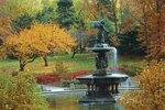 Click here for more information about Bethesda Fountain Note Cards - Autumn
