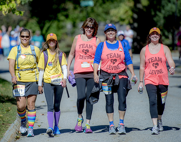 Walkers participate in Hope…It's a Beach Thing