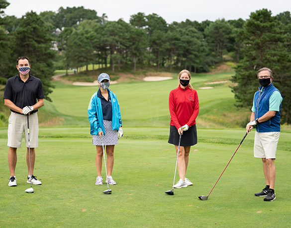 Compete as a team at Jimmy Fund Golf Challenge Experience